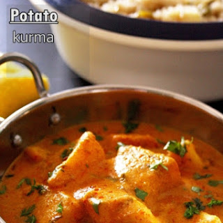 Potato Kurma Recipe Or Aloo Kurma (restaurant Style)