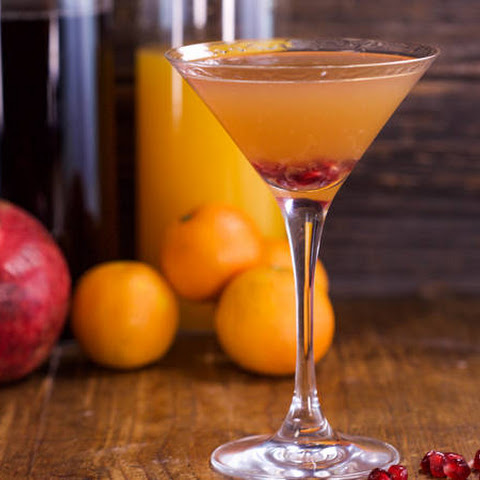 Pomegranate Clementine Martini