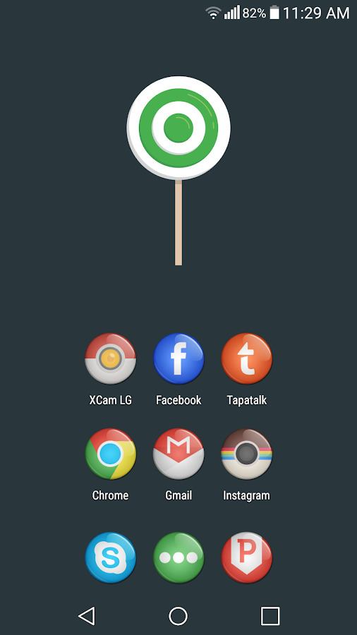 Eye Candy Icon Pack Screenshot 1