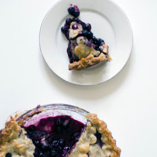 Three Generation Blueberry Pie