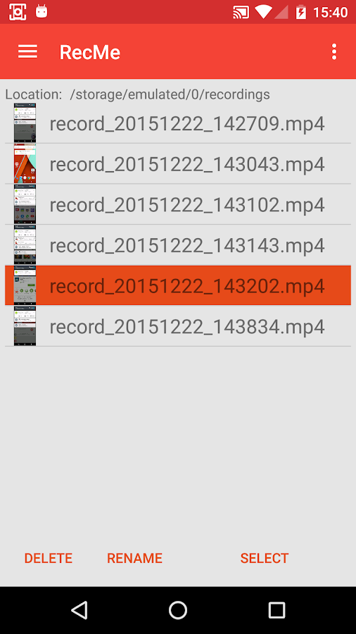 RecMe Free Screen Recorder Screenshot 1