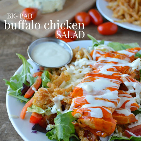 Big Bad Buffalo Chicken Salad