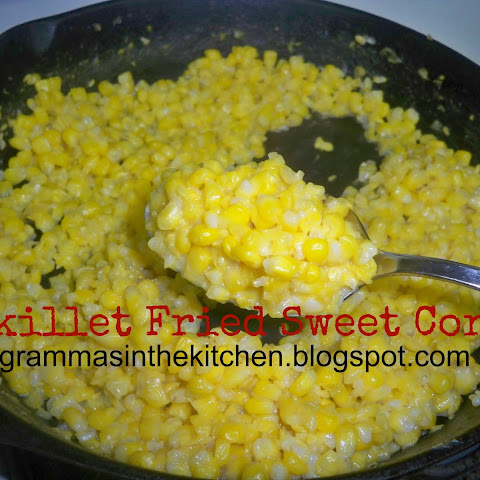 Skillet Fried Sweet Corn