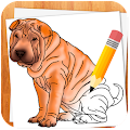 APK App How to Draw Dogs for BB, BlackBerry