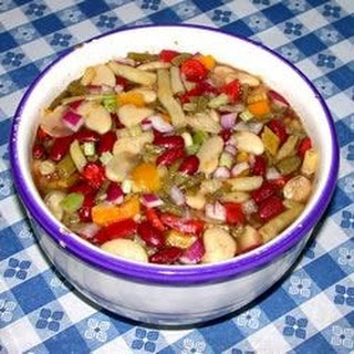 Colorful Four Bean Salad