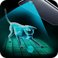 AR Hologram Cat Tom APK for Bluestacks