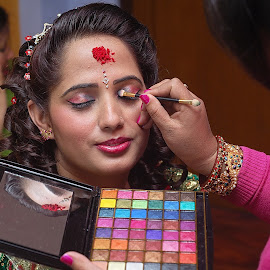 by Rajesh Dhungana - Wedding Getting Ready (  )