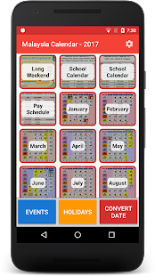 App Malaysia Calendar All Holidays apk for kindle fire