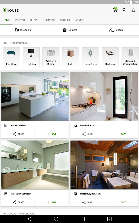 Download houzz interior design ideas for pc for Interior design application