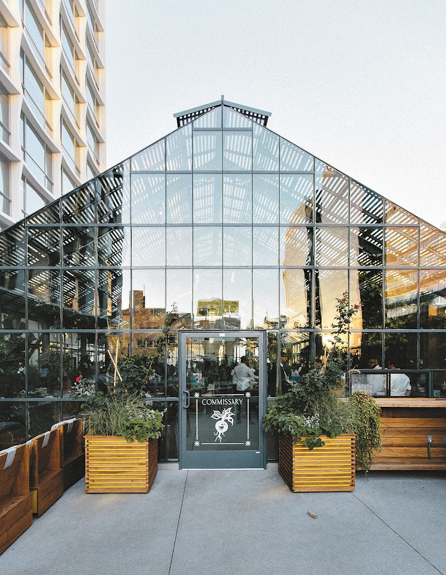 Commissary greenhouse and food