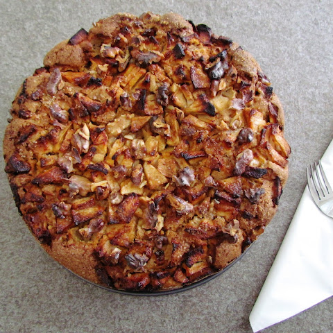 Passover Apple And Walnut Cake