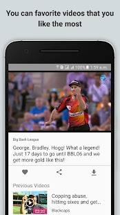 CricVideos: Cricket Highlights - screenshot