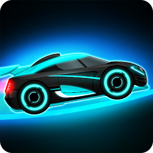 Car Games: Neon Rider Drives Sport Cars Icon