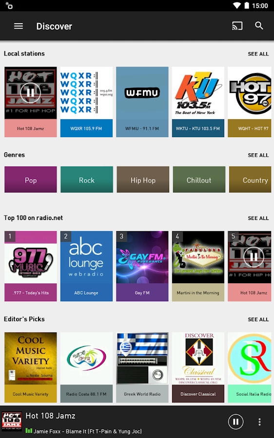 radio.net PRIME Screenshot 9
