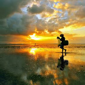 Morning Walk by Alit  Apriyana - Landscapes Sunsets & Sunrises