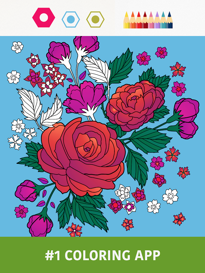 Colorfy - Coloring Book Free Screenshot 0