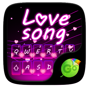 Love Song GO Keyboard Theme