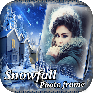 Snowfall Photo Collage Maker