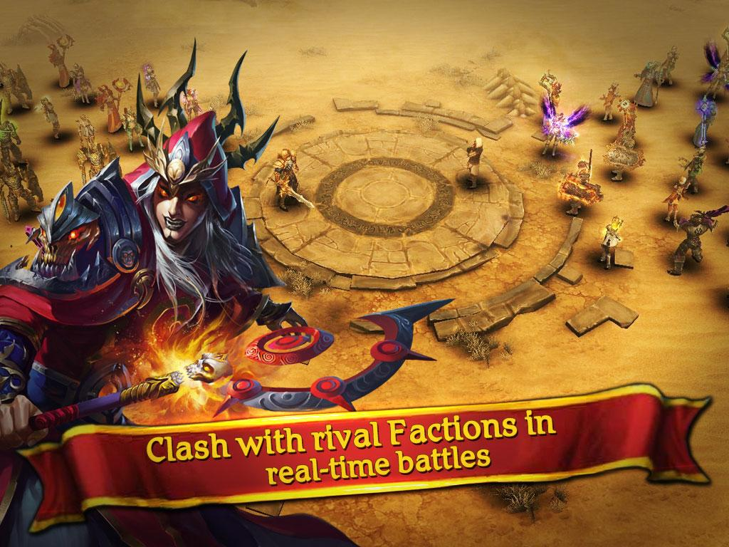 Clash for Dawn: Guild War Screenshot 2