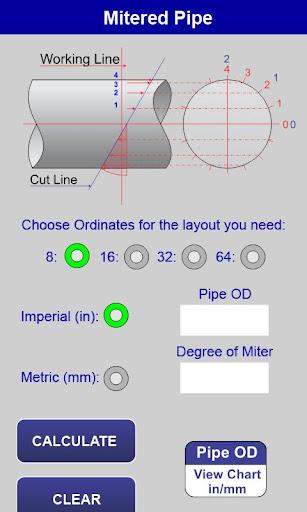 Pipe Miter - screenshot