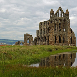 Whitby Abbey by Andy Bertenshaw - Buildings & Architecture Public & Historical ( england, yorkshire, ruins, whitby, abbey )