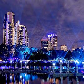 by Vino P - City,  Street & Park  Night