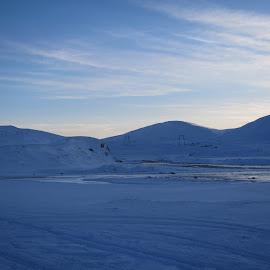 by Áslaug Óttarsdóttir - Landscapes Mountains & Hills