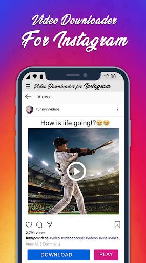 InstaSaver Photo & Video Downloader for Instagram For PC