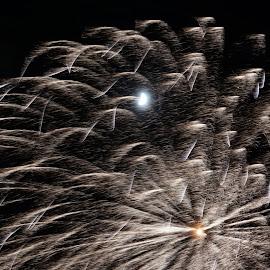 by Don Scherschel - Abstract Fire & Fireworks