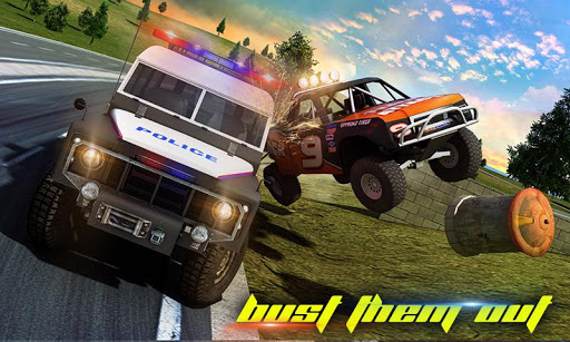 Police Car Smash 2017 screenshot 3