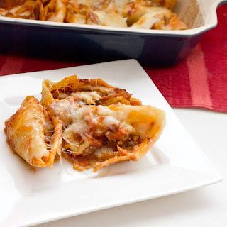 Beef And Mushroom Stuffed Shells Recipes