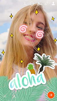 Retrica - Selfie, Sticker, GIF APK screenshot thumbnail 3