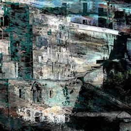 I Sassi di Matera by Carlo Gulin - Digital Art Places