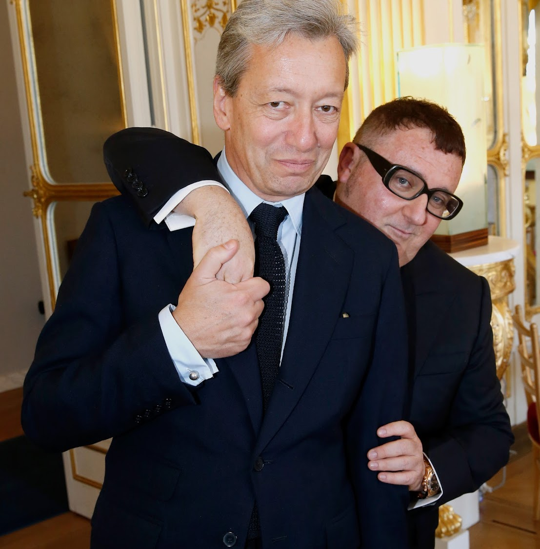 Frederic Malle and Alber Elbaz