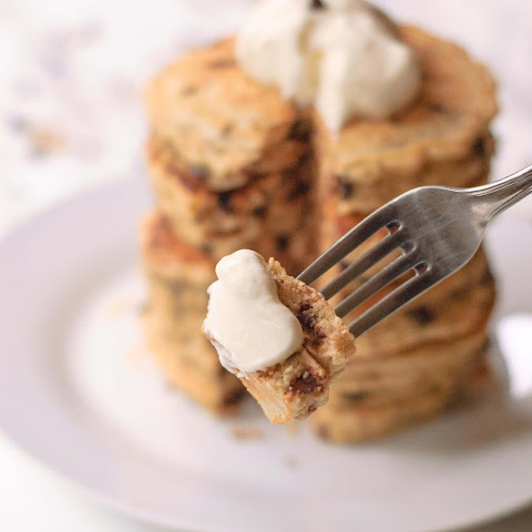 Chocolate Chip & Toasted Coconut Pancakes