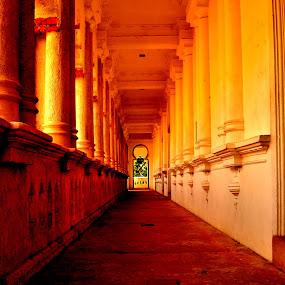 Memory Lane by Mohd Khairil Hisham Mohd Ashaari - Buildings & Architecture Public & Historical ( corridor, castle, historical, building, architecture )