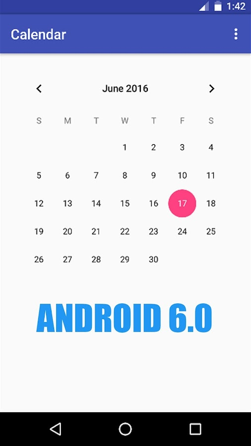 Simple Calendar Pro Screenshot 3