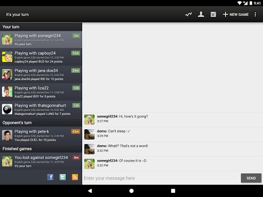 Wordfeud FREE screenshot 10