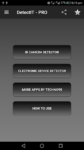 DetectIT Device and Camera Detector ADs FREE Screenshot