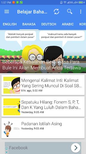Aplikasi Belajar Bahasa screenshot 5