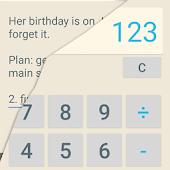 Secret Calculator