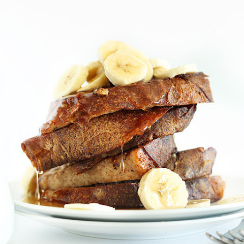 5 Ingredient Vegan Banana French Toast