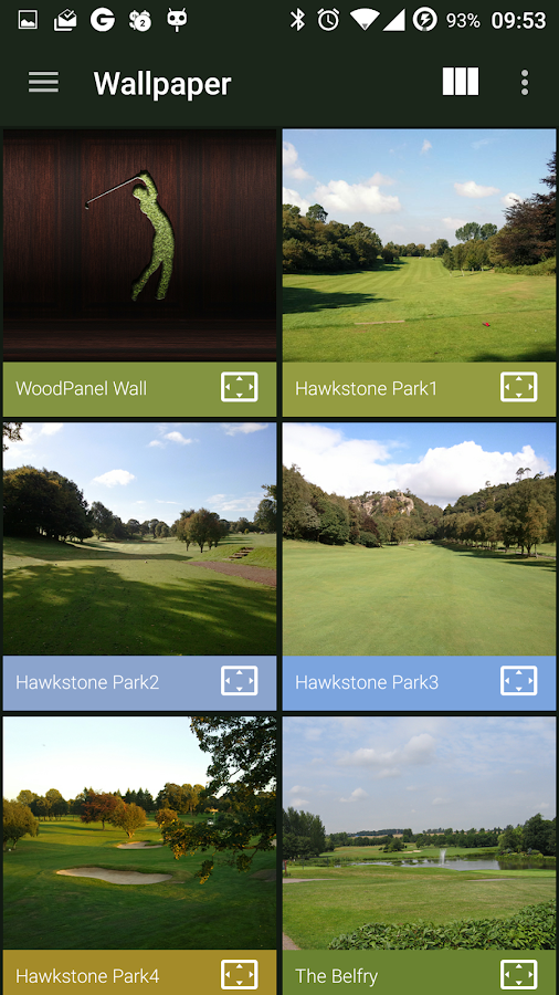 The Country Club IconPack Screenshot 3