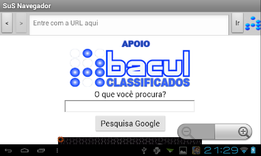SuS Navegador screenshot 9