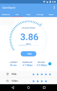 Speed test & 3G/4G WLAN Karten Screenshot