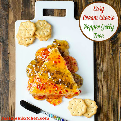Easy Cream Cheese Pepper Jelly Tree