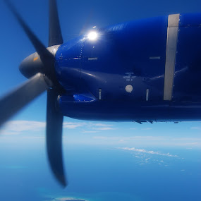 flying... by Mohd Fahmi Husen - Transportation Airplanes