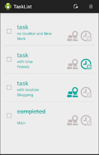 TaskList - screenshot