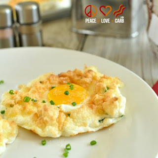 Sour Cream and Chive Egg Clouds – Low Carb, Gluten Free