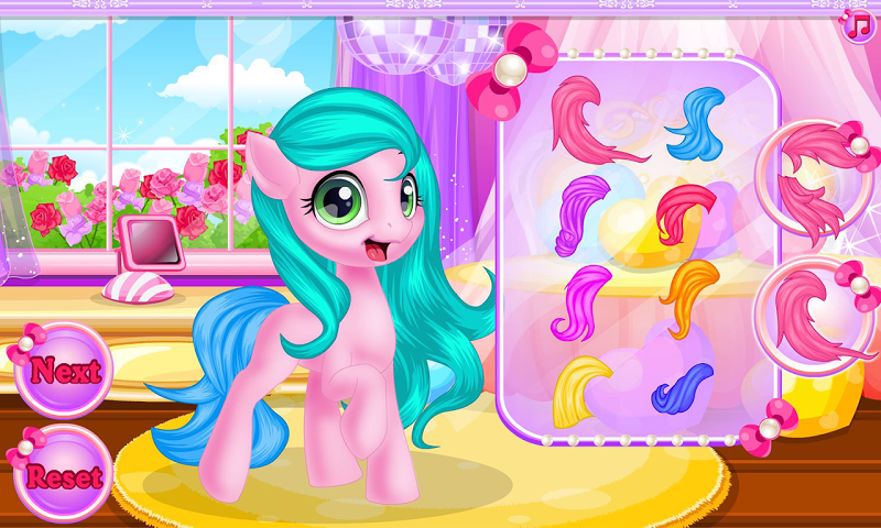 android Baby pony grooming makeover Screenshot 4